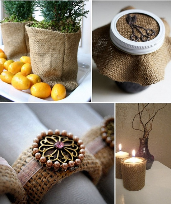 Βurlap decoration ideas13