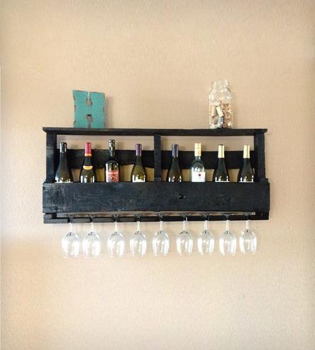 Diy wine racks made from Pallets4