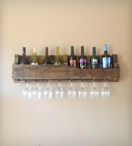 Diy wine racks made from Pallets7