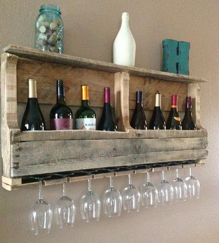 Diy wine racks made from Pallets