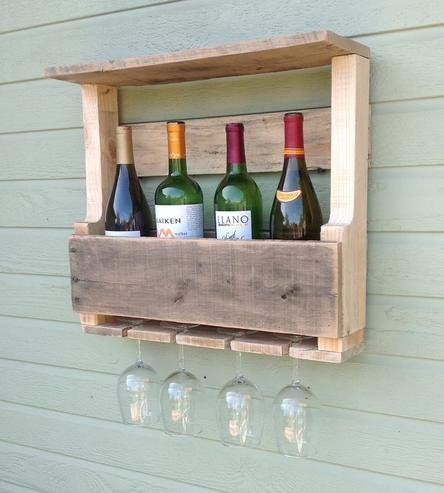 Diy wine racks made from Pallets2