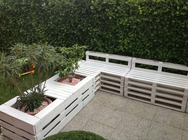 Meble Ogrodowe Z Palet Czym Malowac : Amazing Diy pallet sofa ideas  My desired home