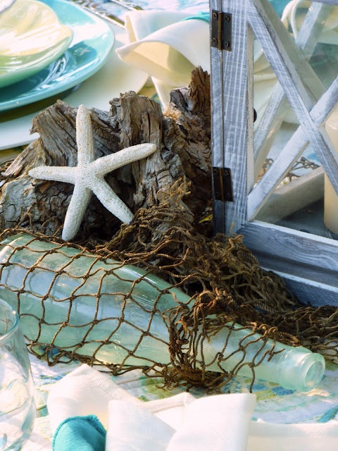 summer decoration inspiration from sea and beach world