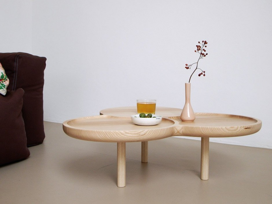 coffee tables by Johannes Fuchs
