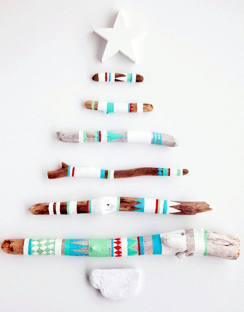 Best Diy Driftwood inspirations Christmas tree