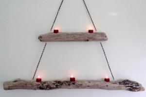Best Diy Driftwood inspirations candle holder