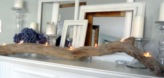 Best Diy Driftwood inspirations candle holder2