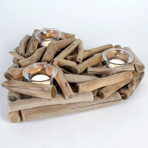 Best Diy Driftwood inspirations candle holders