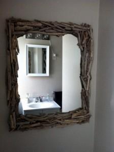 Best Diy Driftwood inspirations mirror