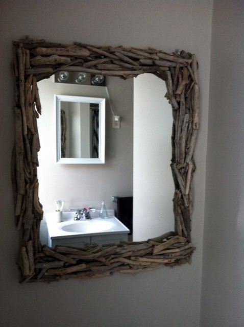 Best Diy Driftwood inspirations mirror