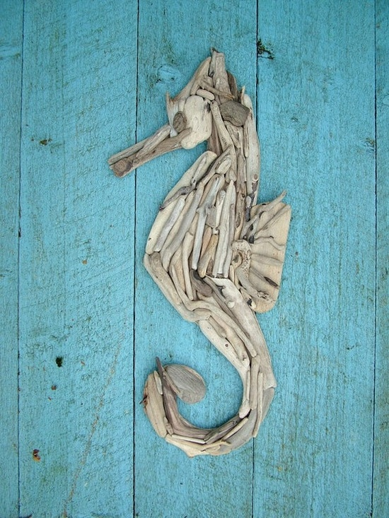 Best Diy Driftwood inspirations wall art 3
