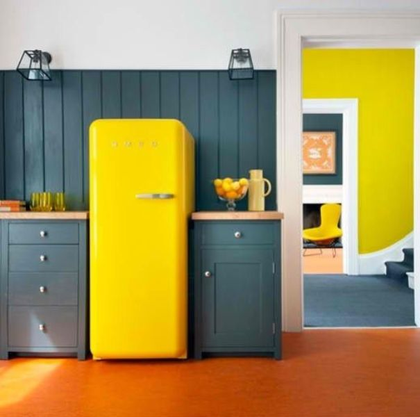 A smart way to give color to your kitchen3