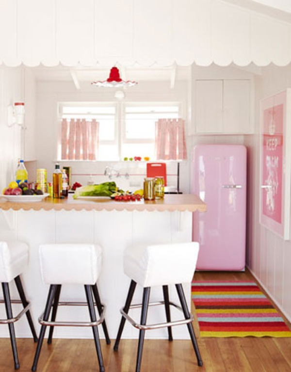 A smart way to give color to your kitchen5