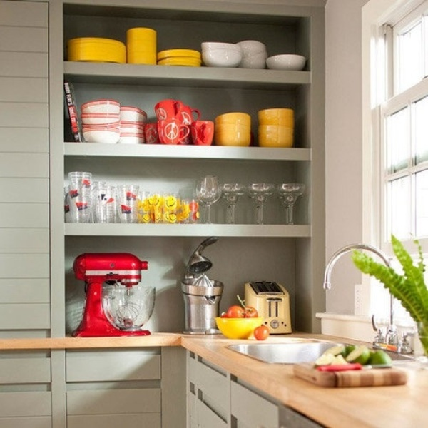 A smart way to give color to your kitchen6