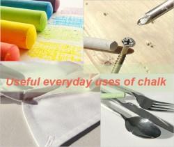 Useful everyday uses of chalk5