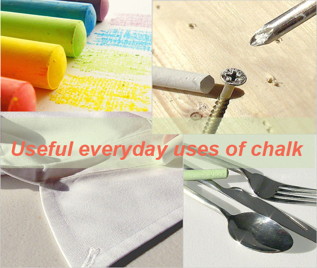 Useful everyday uses of chalk5