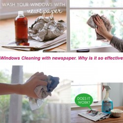 Windows Cleaning with newspaper5