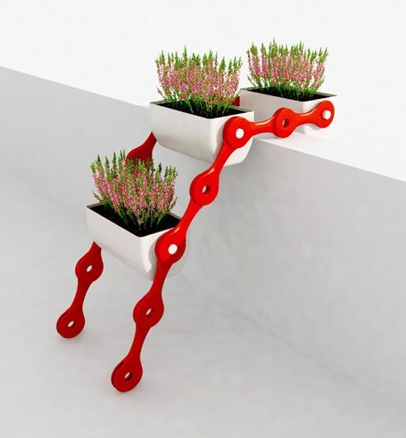 Modular System Stand with Planters1