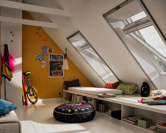 Amazing loft coloring ideas8