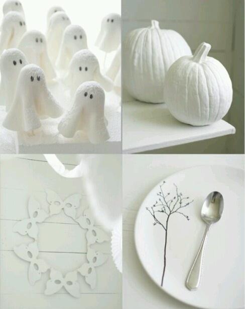 Black and white Halloween ideas10