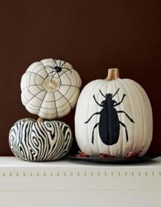Black and white Halloween ideas17