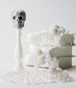 Black and white Halloween ideas21
