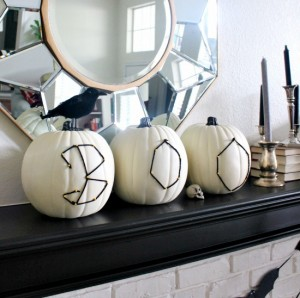 Black and white Halloween ideas4