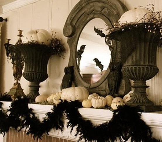 Black and white Halloween ideas41