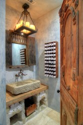 Rustic bathroom ideas13
