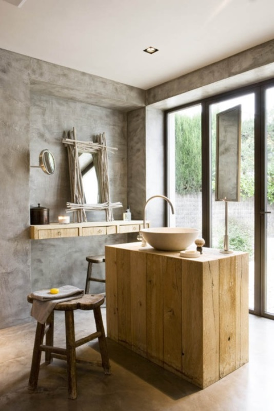 Rustic bathroom ideas6