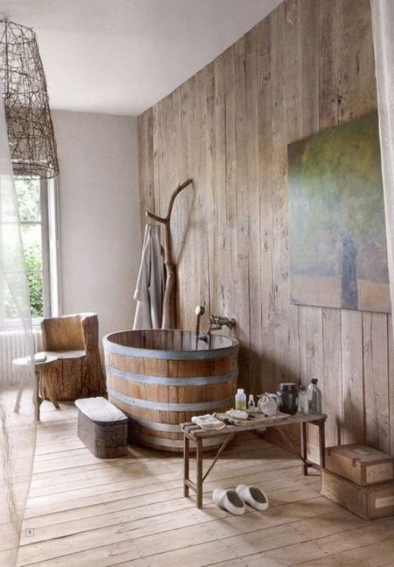 Rustic bathroom ideas7