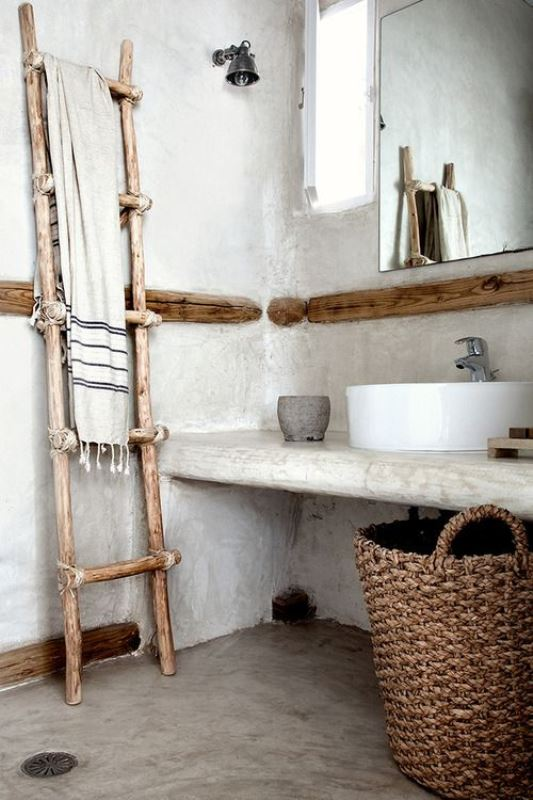 Rustic bathroom ideas8