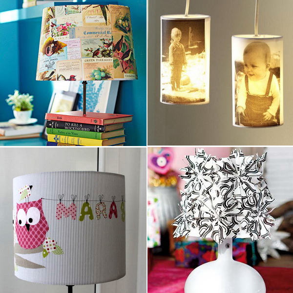 22 Diy ideas for decorative lamp shade