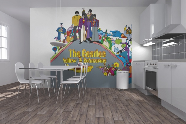 Beatles wall mural collection3