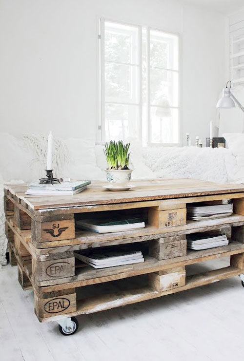 Creative ideas with pallets