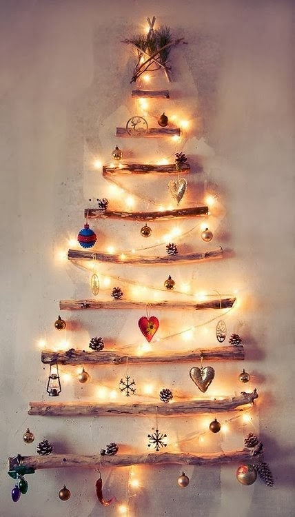 Decorating for Christmas with branches4