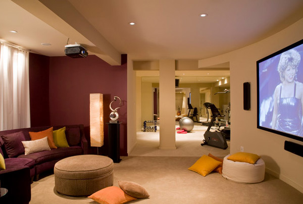 decorating ideas for remodeling basement9