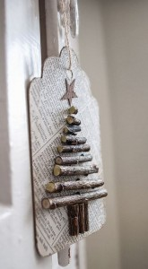 wooden Christmas tree ideas12