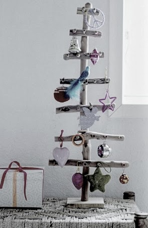 wooden Christmas tree ideas13