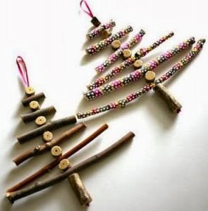 wooden Christmas tree ideas16