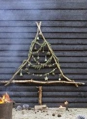 wooden Christmas tree ideas17