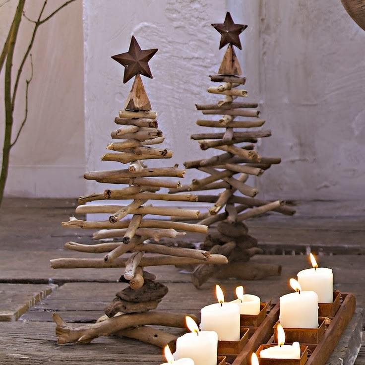 wooden Christmas tree ideas18