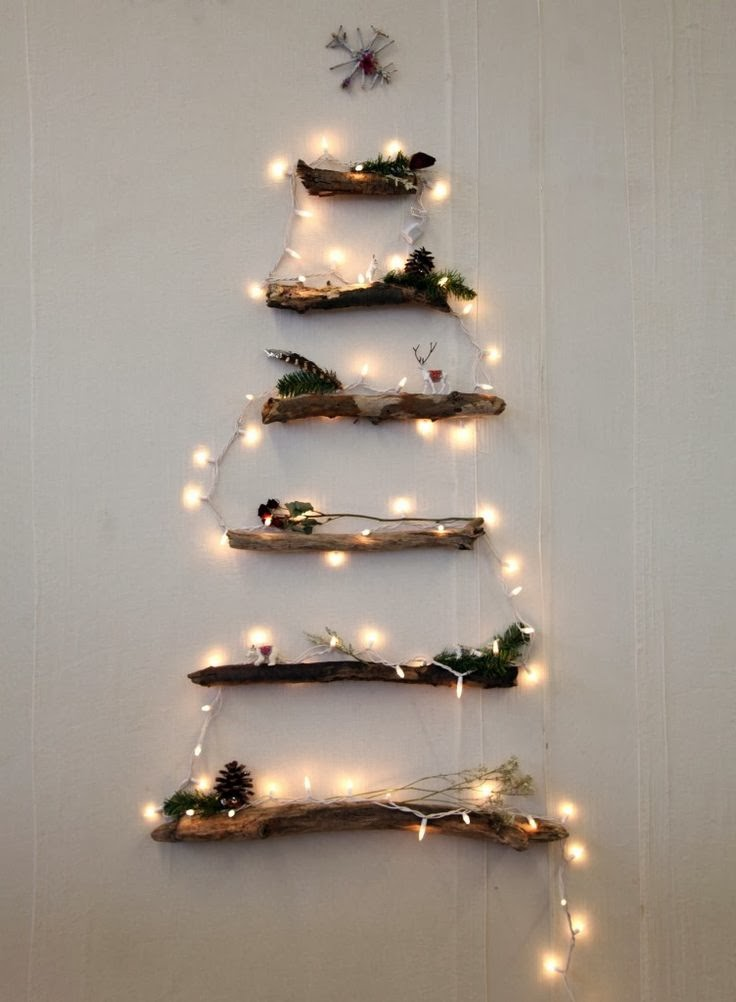wooden Christmas tree ideas19