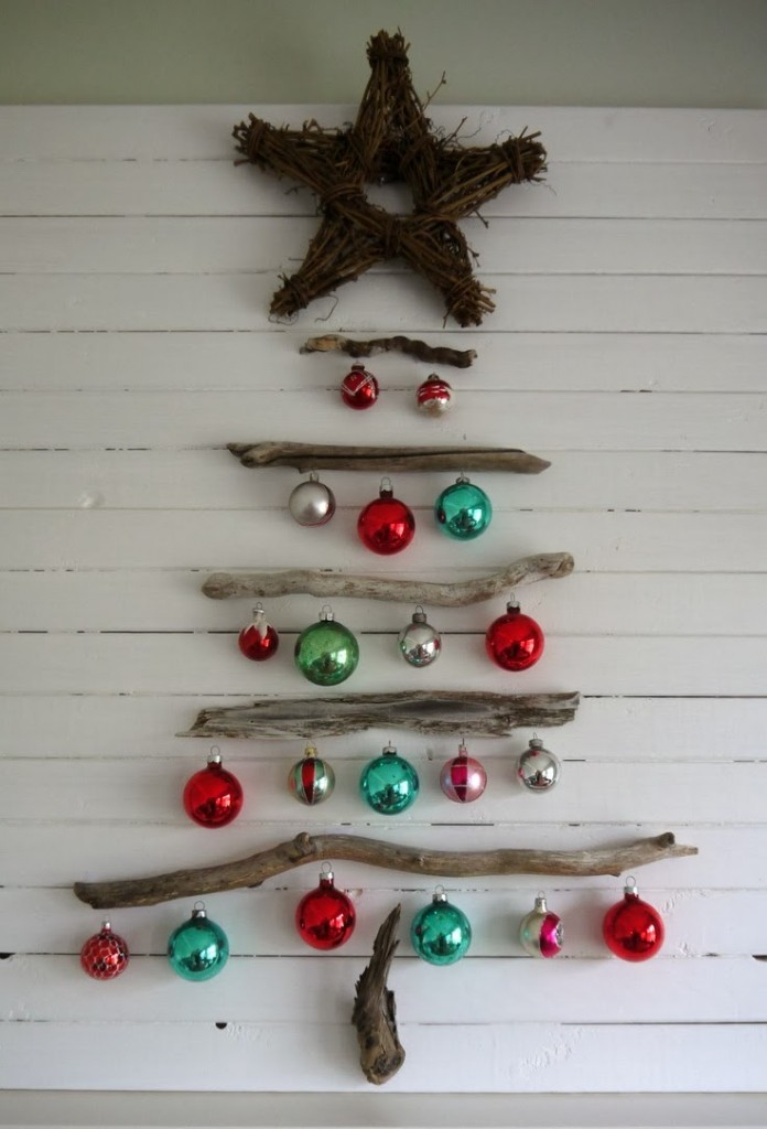 wooden Christmas tree ideas26