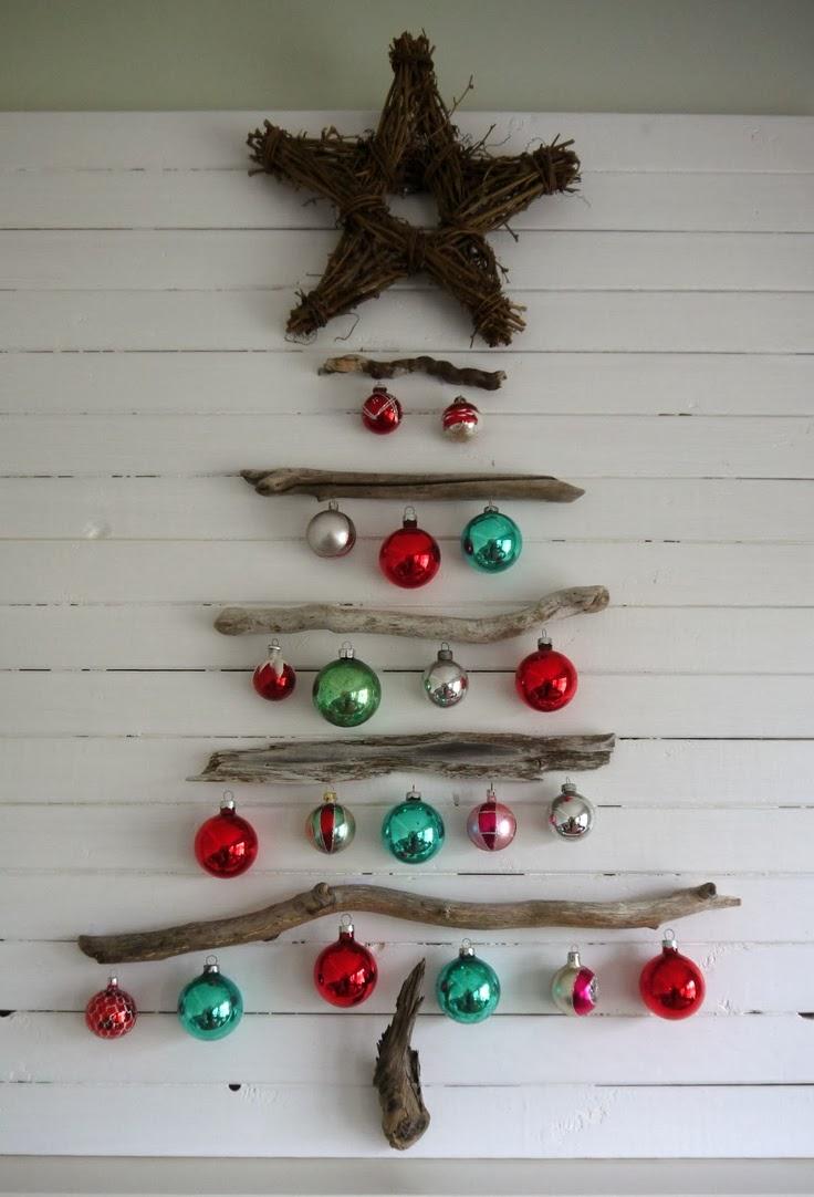 Wooden christmas tree ideas26 my desired home - Diy christmas tree on wall ...