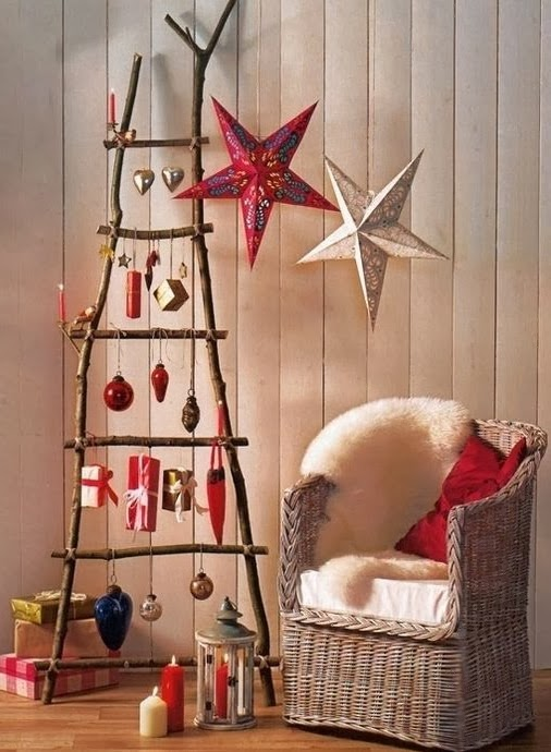 wooden Christmas tree ideas29