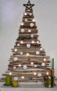 wooden Christmas tree ideas4