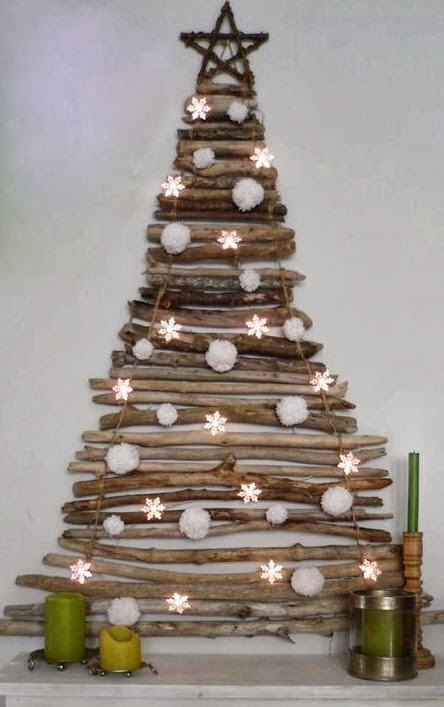wooden Christmas tree ideas4