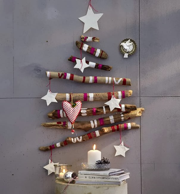 wooden Christmas tree ideas6