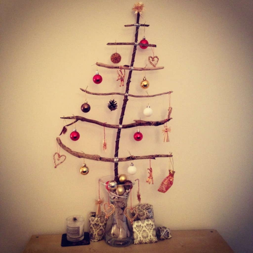 wooden Christmas tree ideas9